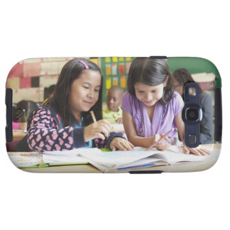 Students working together in classroom galaxy s3 cases