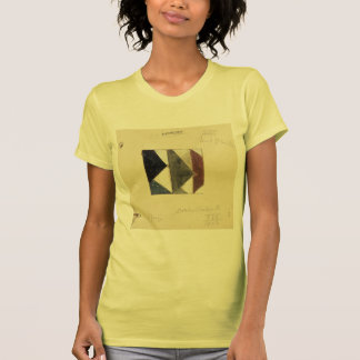 Studie voor Contra compositie XIX by Theo Doesburg Tee Shirts