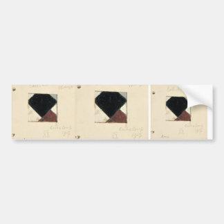 Studie voor Contra compositie XX by Theo Doesburg Bumper Stickers