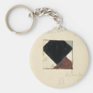 Studie voor Contra compositie XX by Theo Doesburg Keychains