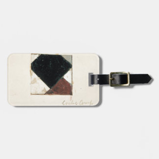 Studie voor Contra compositie XX by Theo Doesburg Travel Bag Tags