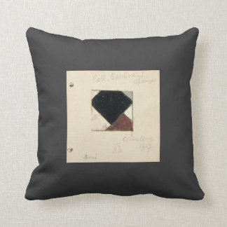 Studie voor Contra compositie XX by Theo Doesburg Throw Pillows