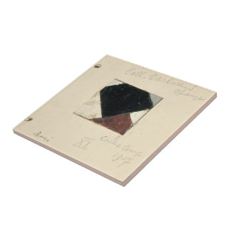 Studie voor Contra compositie XX by Theo Doesburg Ceramic Tiles