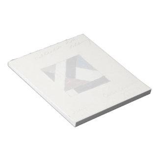 Studie voor Contra compositie XXI by Theo Doesburg Memo Note Pads