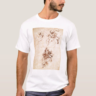Studies for a Madonna with a Cat, c.1478-80 T-Shirt