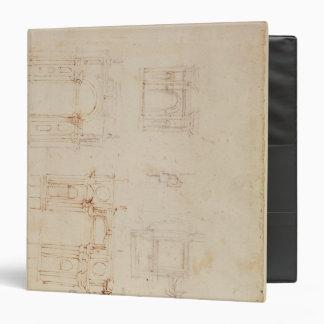 Studies for architectural composition binder