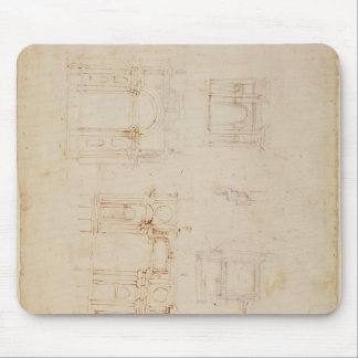 Studies for architectural composition mouse pad