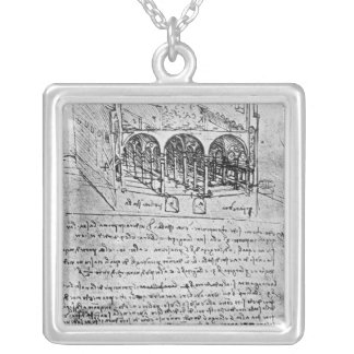 Studies for stables custom necklace