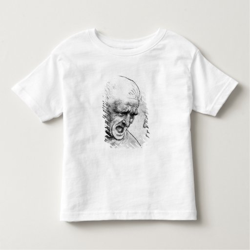 Studies for the heads of two soldiers toddler t-shirt