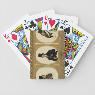 Studies for the Portraits of Lord Eglinton, Lord D Bicycle Playing Cards
