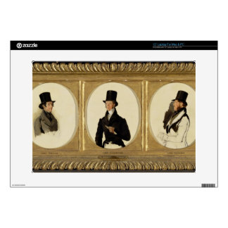 Studies for the Portraits of Lord Eglinton, Lord D Laptop Skins