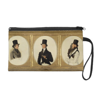 Studies for the Portraits of Lord Eglinton, Lord D Wristlet Purse