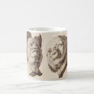 Studies from Plaster Casts Coffee Mug