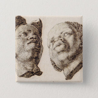 Studies from Plaster Casts Pinback Button