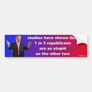 studies have shown that... bumper sticker