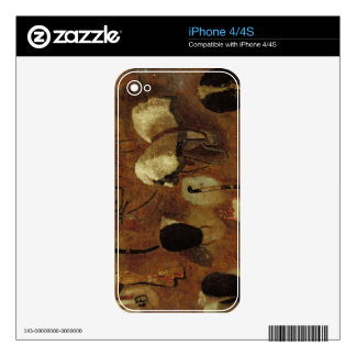 Studies of Military Accoutrements: a study for 'Th Skin For The iPhone 4