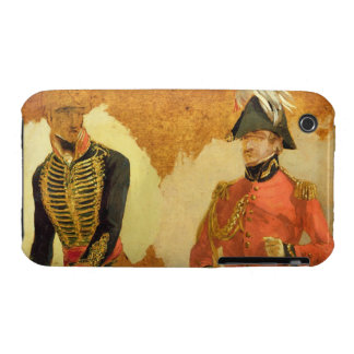 Studies of Royal Horse Artillery Uniform, and of a iPhone 3 Case-Mate Case