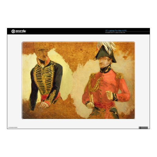 """Studies of Royal Horse Artillery Uniform, and of a 15"""" Laptop Skin"""