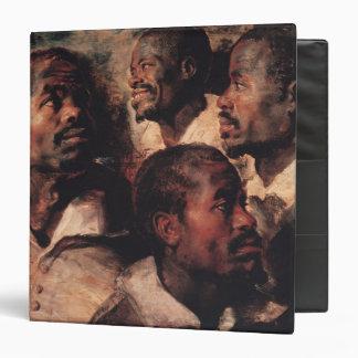 Studies of the Head of a Negro Binder