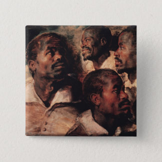 Studies of the Head of a Negro Button