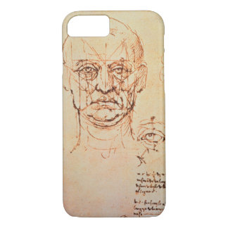 Studies of the Proportions of the Face and Eye, 14 iPhone 8/7 Case