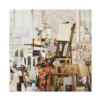 Studio 1986 canvas print
