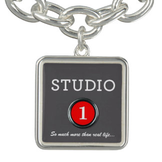 Studio 1 Logo Charm Bracelet