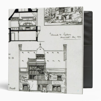 Studio and Cottage for Miss Rosa Corder 3 Ring Binder