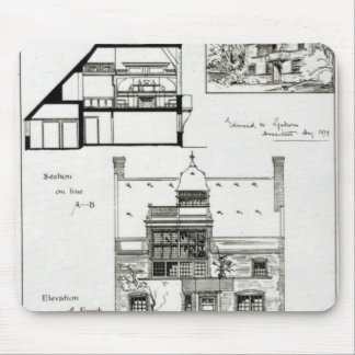 Studio and Cottage for Miss Rosa Corder Mouse Pad
