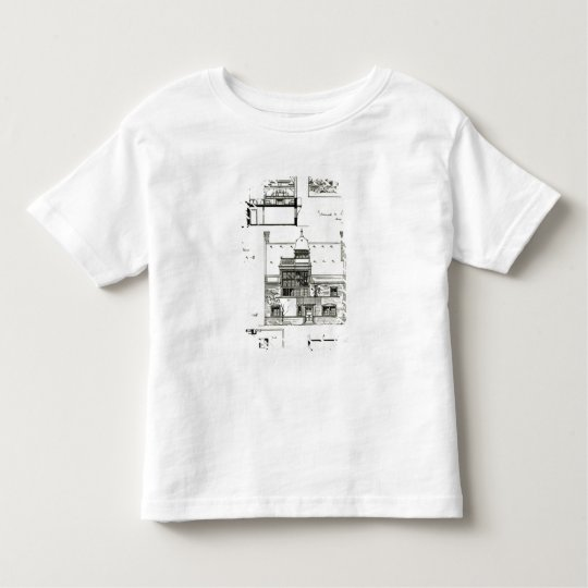 Studio and Cottage for Miss Rosa Corder Toddler T-shirt