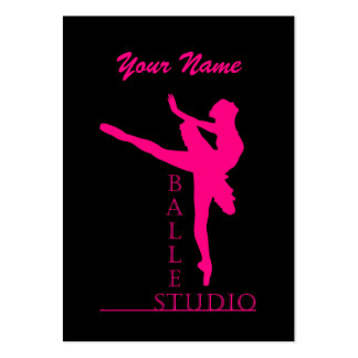 Studio Ballet - Business-, Schedule Card Large Business Card