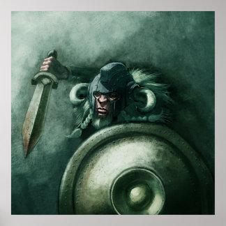 Studio Colrouphobia Viking Poster