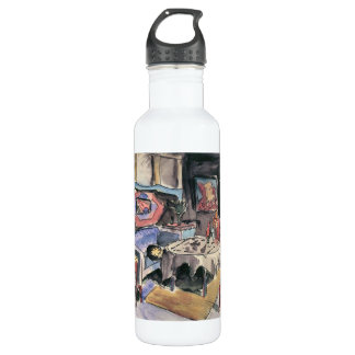 Studio Cover by Walter Gramatte Water Bottle