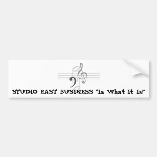 Studio east business, STUDIO EAST BUSINESS Car Bumper Sticker