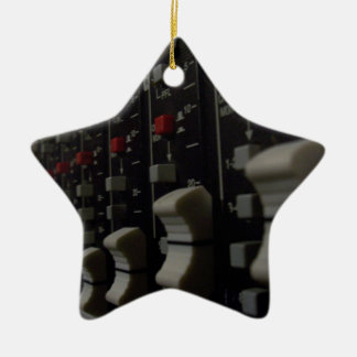 Studio Life Double-Sided Star Ceramic Christmas Ornament