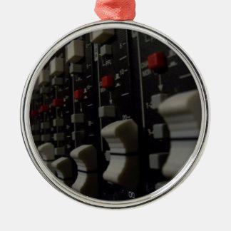 Studio Life Round Metal Christmas Ornament