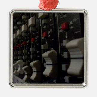 Studio Life Square Metal Christmas Ornament