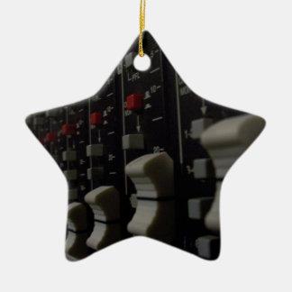 Studio Life Double-Sided Star Ceramic Christmas Ornament