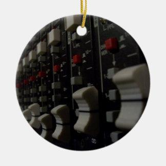 Studio Life Double-Sided Ceramic Round Christmas Ornament
