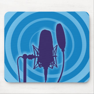 Studio Microphone Mouse Pad