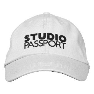 STUDIO PASSPORT EMBROIDERED BASEBALL CAP