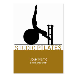 Studio Pilates - Business, Schedule Card Business Card