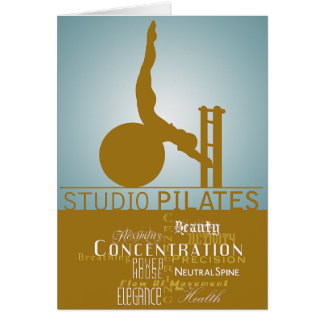 Studio Pilates - Card, Greeting
