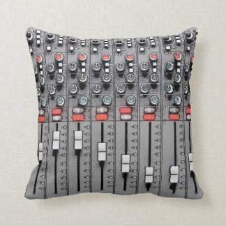 Studio Pillow: Mixer / Sound Board Pillow