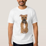Studio portrait of American pit bull puppy 3 T-Shirt