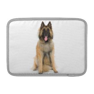 Studio portrait of Belgian shepherd dog MacBook Sleeve
