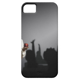 Studio portrait of female teacher with shadows iPhone SE/5/5s case