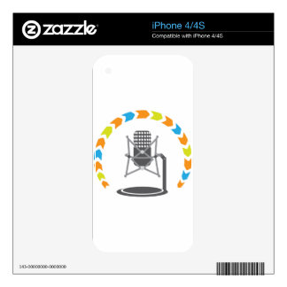Studio pro mic iPhone 4S skins