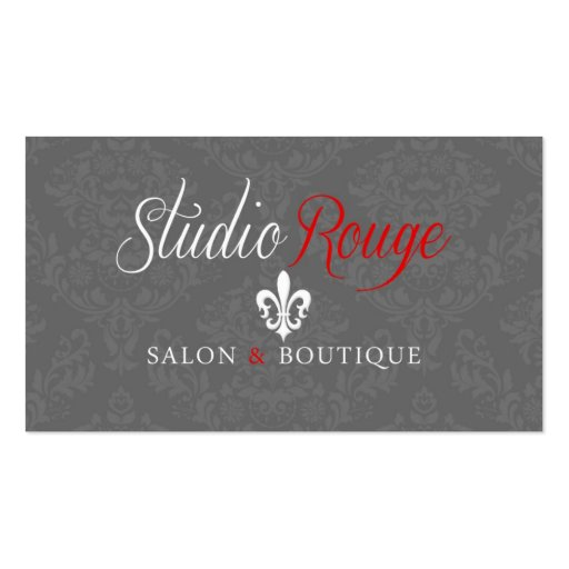 Studio Rouge - Nancy (*NEW*) Business Card Templates