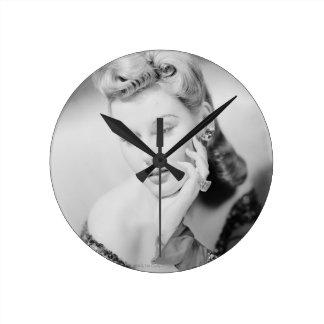 Studio Shot Round Wall Clock